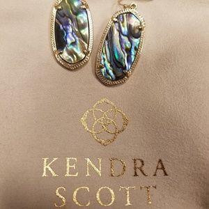 Abalone Kendra Scott danielle earrings